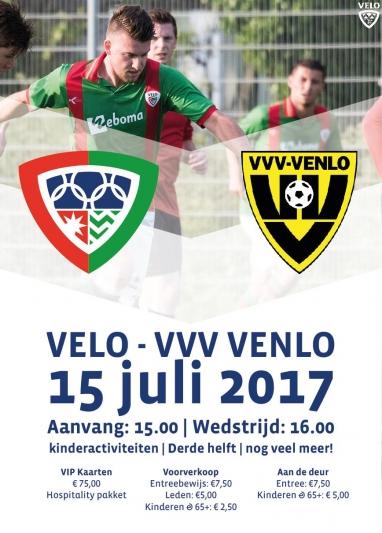 Kaartverkoop VELO - VVV Venlo